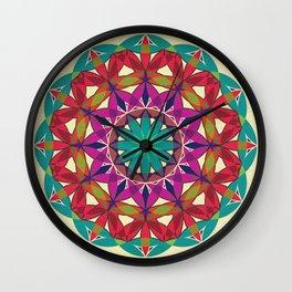 Flower of Life variation 2 Wall Clock