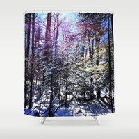 wildlife Shower Curtains featuring Wildlife by Olivier P.