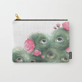 Peeping Peonies 2 Carry-All Pouch