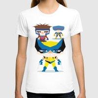x men T-shirts featuring X Men fan art by danvinci