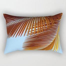 palm leaves Rectangular Pillow