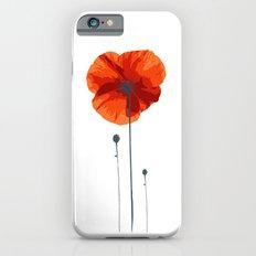 Poppy poppy poppy iPhone 6s Slim Case