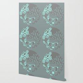 Afro Diva : Aqua Sophisticated Lady Wallpaper