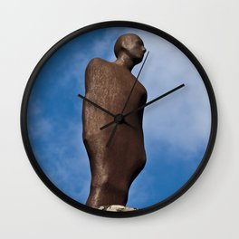 Rusty man Wall Clock