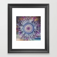Crown Chakra (II) Framed Art Print