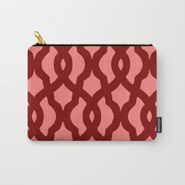 Grille No. 2 -- Red Carry-All Pouch