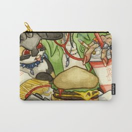 Double Cheeseburger Deluxe Combo Carry-All Pouch