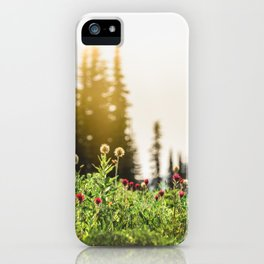 Mountain Meadow Flowers - 13/365 iPhone Case