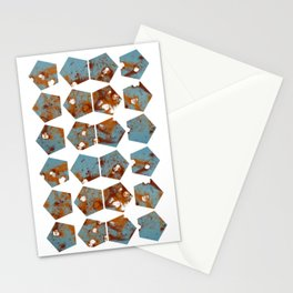 Pentagons of May 24 Stationery Cards