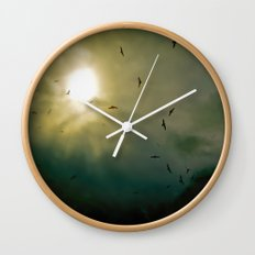 Wings Eternal Wall Clock
