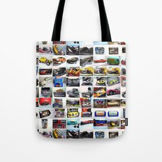 MovieRepliCars Poster Tote Bag