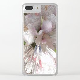 Abstract apple tree Clear iPhone Case