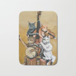 Cat Quartet Bath Mat