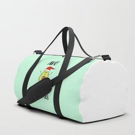 Avo Merry Christmas, Funny, Quote Duffle Bag