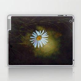 Marquerite in the darkness Laptop & iPad Skin