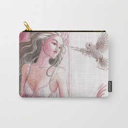 Bernice and the Dove Carry-All Pouch