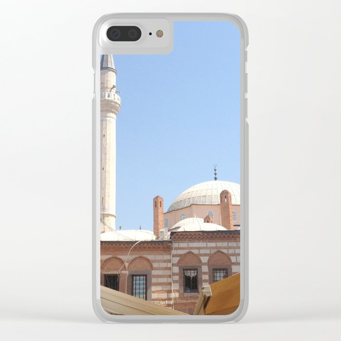 Mosque in Izmir, Turkey Clear iPhone Case