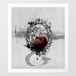 Blanca Nieves Art Print