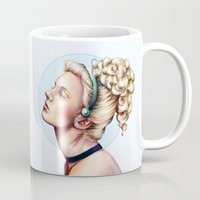 cinderella Mugs featuring cinderella by Anja-Catharina