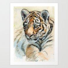 Tiger Cub 865 Art Print
