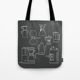 coffee makers Tote Bag