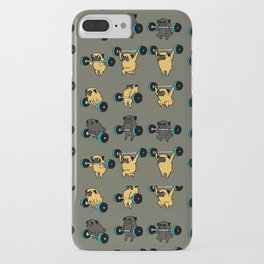 OLYMPIC LIFTING PUG iPhone Case