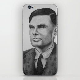 Alan Turing Pastel iPhone Skin