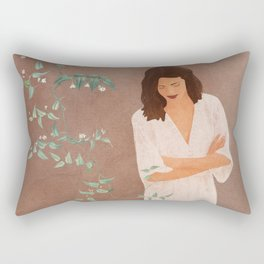Under the Tree Branches Rectangular Pillow