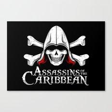 Assassins of the Caribbean Canvas Print