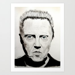 Christopher Walken Art Print