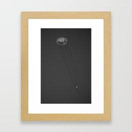 X Ray Jelly Fish Framed Art Print