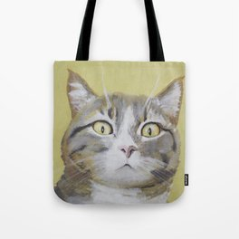 Cat Portrait #1 - Hattie Tote Bag