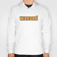wasted rita Hoodies featuring Wasted by D-fens