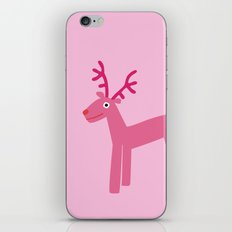Reindeer-Pink iPhone & iPod Skin
