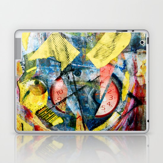 Time Collage Laptop & iPad Skin