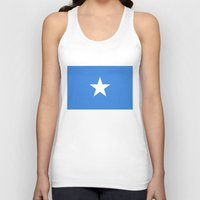 islam Tank Tops featuring Somalian national flag - Authentic color and scale (high quality file) by Bruce Stanfield