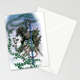 Carousel Garden Stationery Cards