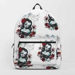 Vampire Vixen with Roses Backpack