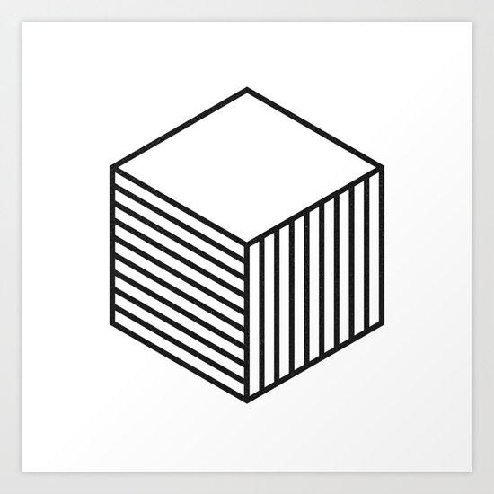 minimal & geometric no.4 Art Print