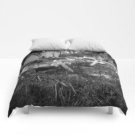 Derelict Crosses Comforters