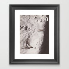 Space Ships (no. 8) Framed Art Print