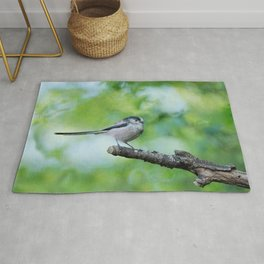 Long-Tailed Tit Rug