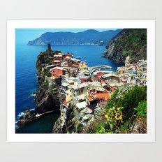 Vernazza Art Print