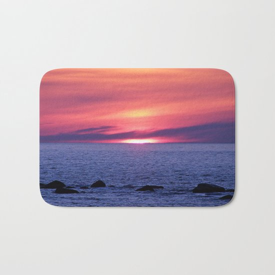 Painted By Nature Bath Mat