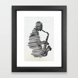 jazz  Framed Art Print