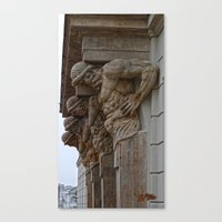 atlas Canvas Prints featuring Atlas by Chema G. Baena Art