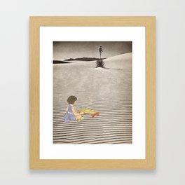 Sand Sound Framed Art Print