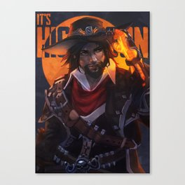 Van Helsing Mccree Canvas Print