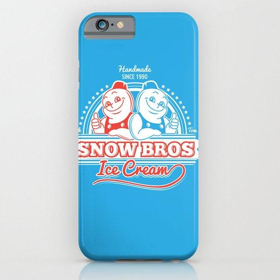 Snow Bros Ice Cream iPhone & iPod Case