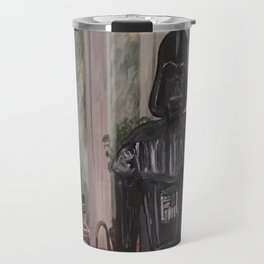 Darth Vader at home  Travel Mug